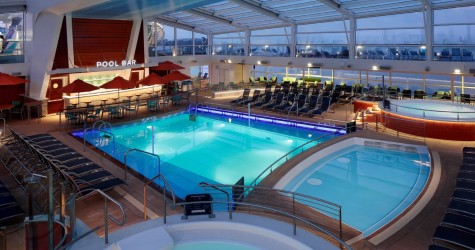 Pool Solarium - Deck 14 Midship Quantum of the Seas - Royal Caribbean International