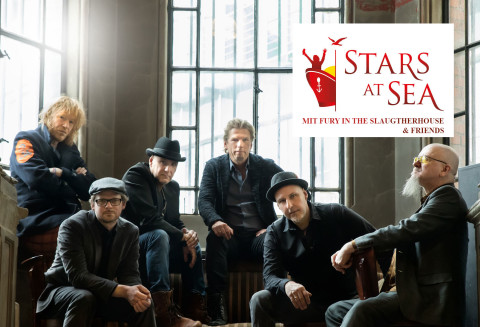 Stars at Sea mit Fury in the Slaughterhouse